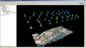 Posizioni di presa e creazione della nuvola di punti 3D
